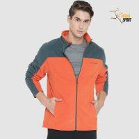 پلار مردانه کلمبیا WESTERN RIDGE FULL ZIP Orange