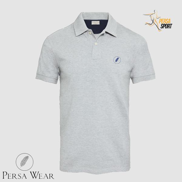 پلوشرت مردانه پرساویر Skyway Grey Polo