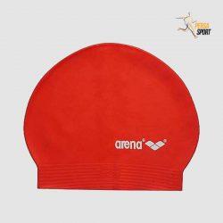 کلاه شنا ارنا ARENA Soft Latex Red