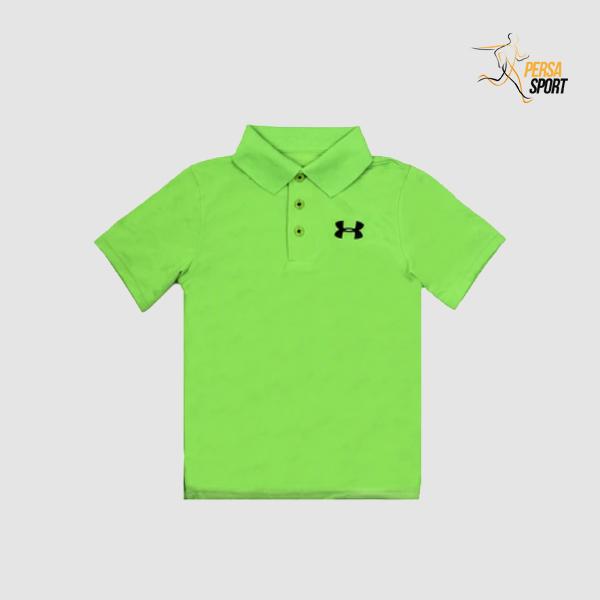 پلوشرت نوجوان آندر آرمور Junior Polo Shirt Green