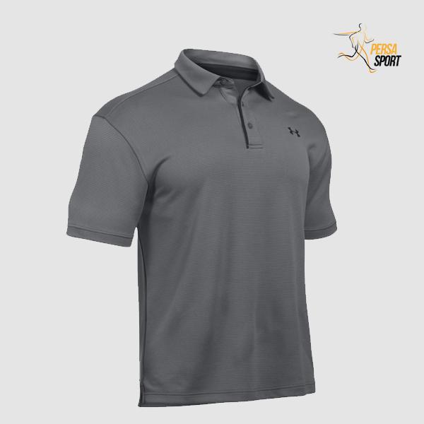 پلوشرت مردانه آندر آرمور TECH POLO SHIRT Grey