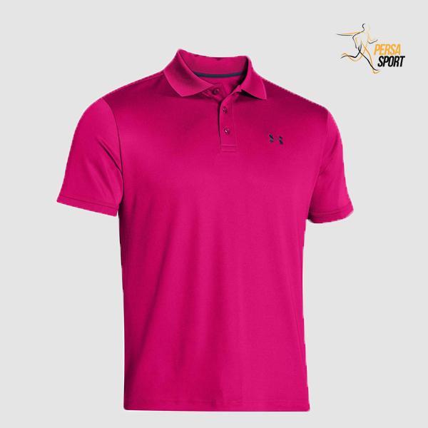 پلوشرت مردانه آندر آرمور TECH POLO SHIRT Pink